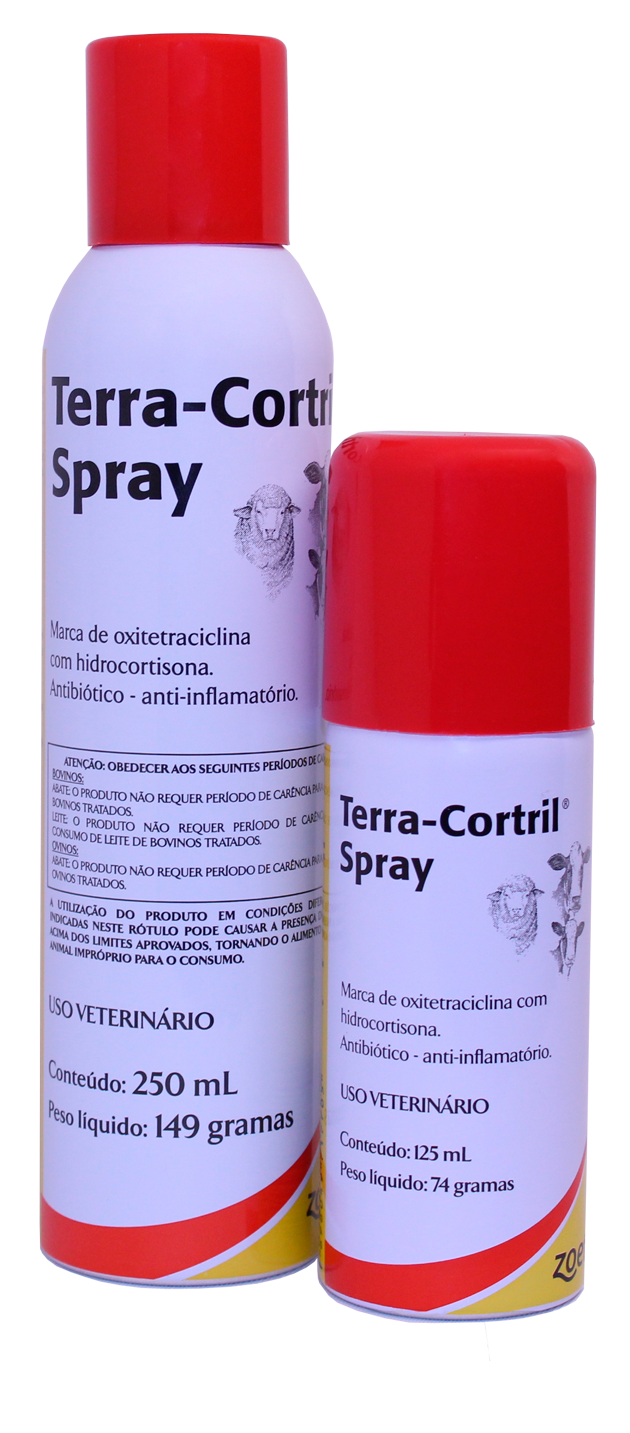 Terra-Cortril Spray